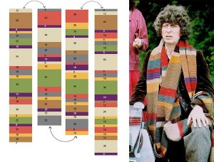 dr-who scarf pattern design